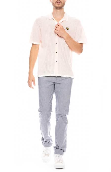 Orlebar Brown Campbell Fine Stripe Pants - Navy/Cloud