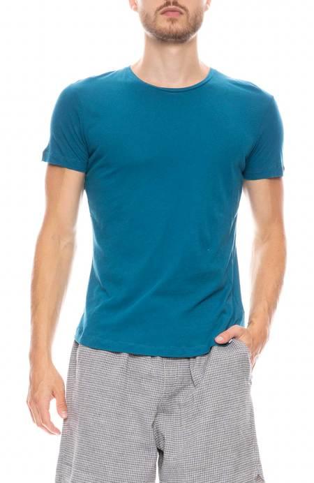 Orlebar Brown Tailor Fit Crewneck T-Shirt - Aquamarine Melange
