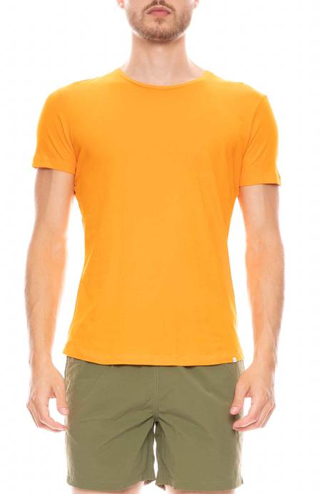 Orlebar Brown Tailor Fit Crewneck T-Shirt - Clementine Melange