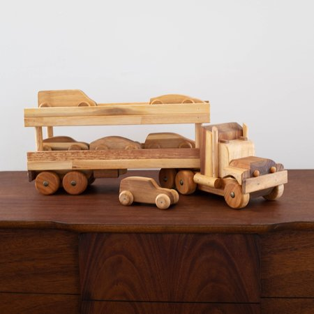 Kids Shop Merci Milo Car Transport Truck with Cars