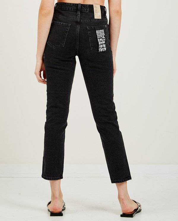 Ksubi Slim Pin Jean - Noir
