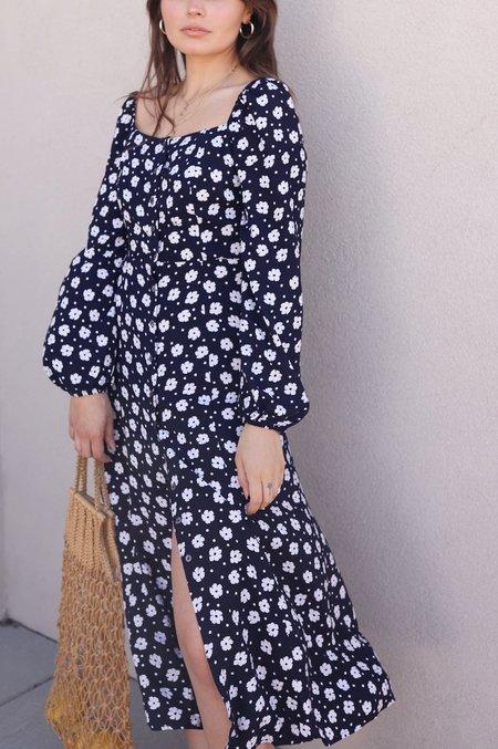 FRNCH  Agniela Dress - Navy