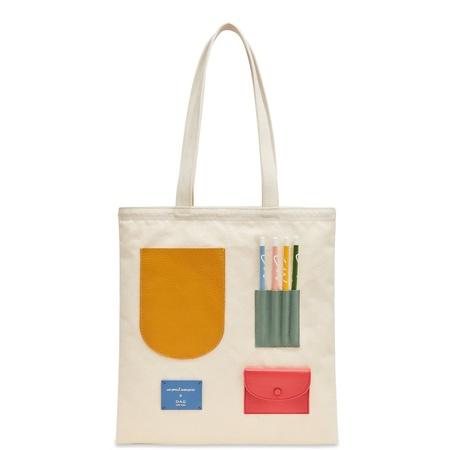 OAD CW Pencils Collab Pocket Tote - Colors