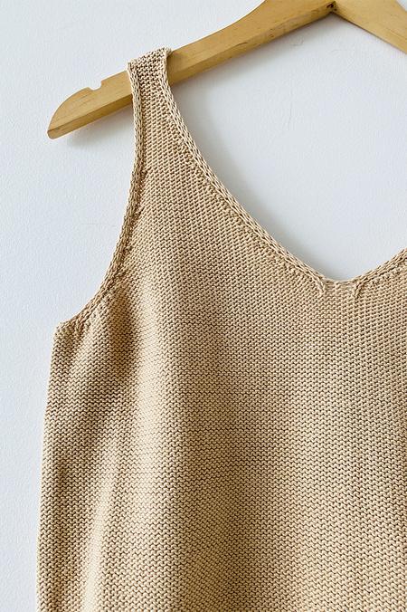 Rita Row Madonna Cotton Sweater Tank