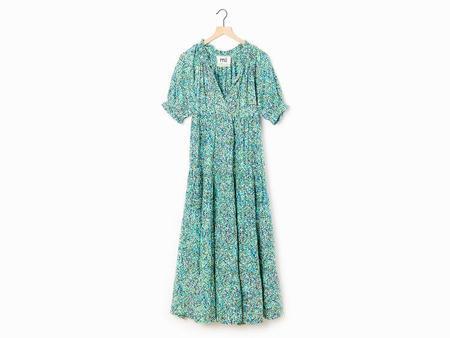 Mii Collection Floral Pointillism Dress