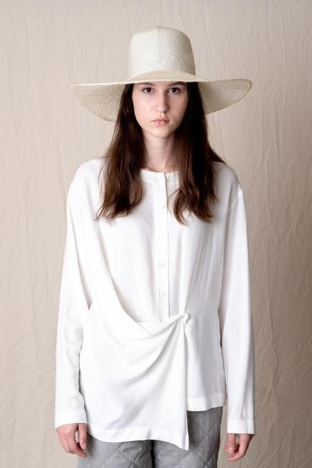 Brookes Boswell Optimo Solid Sisal Straw Hat