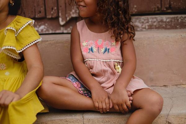 Kids Louise Misha Acacia Top - Rusty