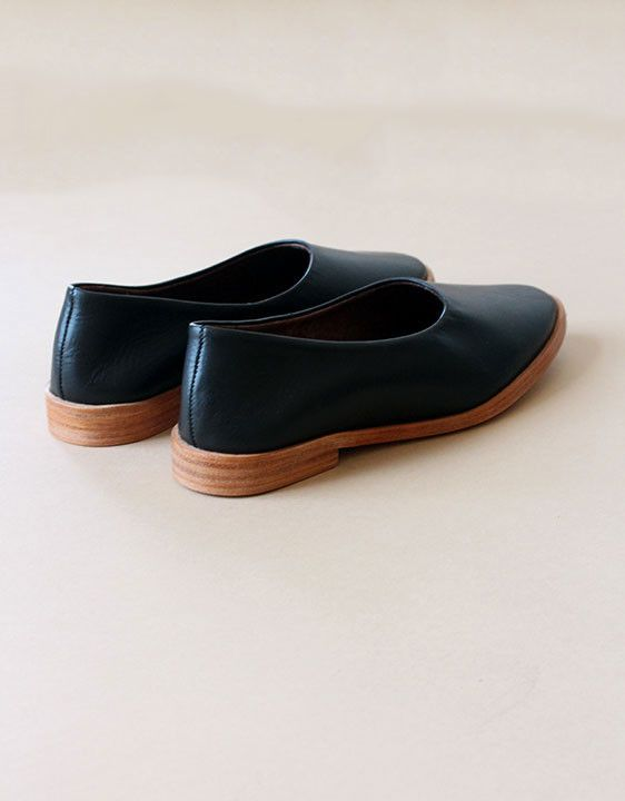 Osborn Studio Black Clarity Flats
