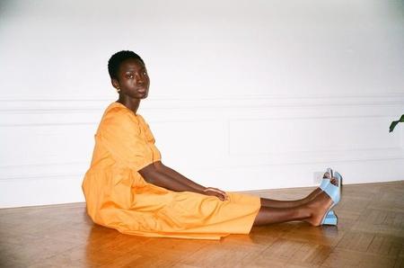 Wray Rosemary Dress - Carrot