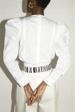 Mr. Larkin Peyton Top - White
