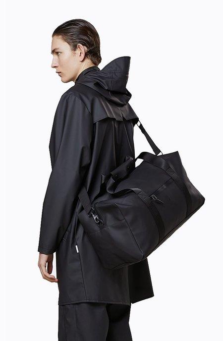 Rains Gym Bag - Black
