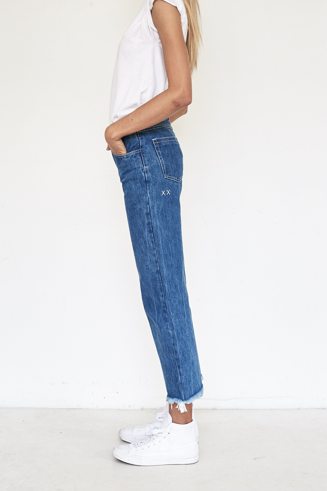 Sandy Liang Cotton Grandpa Jeans Garmentory