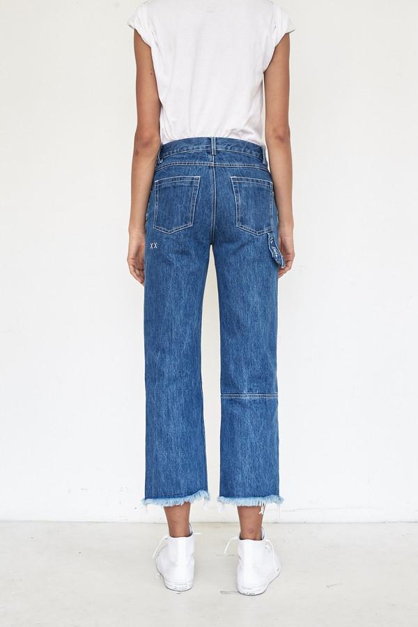 Sandy Liang Cotton Grandpa Jeans Garmentory