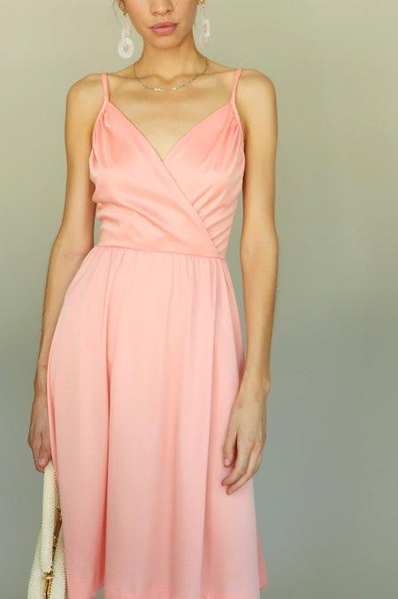 Vintage  70s Disco Dress - Pink