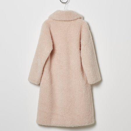 Stand Studio Clara Teddy Coat - Soft Pink