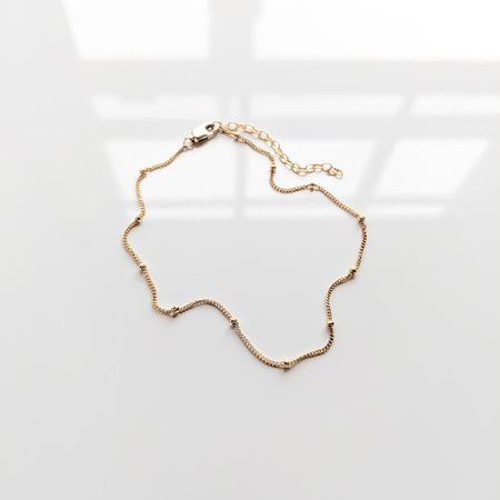 Thatch Adelaide Anklet - Gold