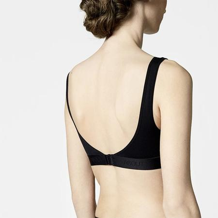 About Antimicrobial Soft Cup Bra - Black