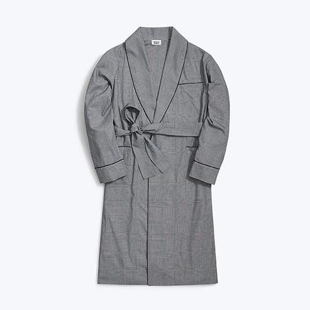 Sleepy Jones Glenn Robe - Glen Plaid