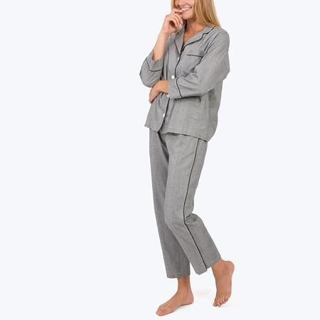Sleepy Jones Marina PJ Set - Glen Plaid