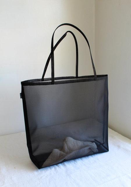 Walker Bags Open Beach Tote - Black