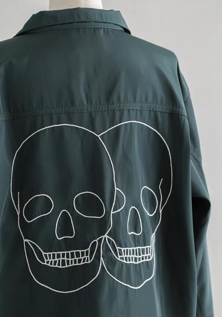Unisex Amor & Rosas Skull Jacket