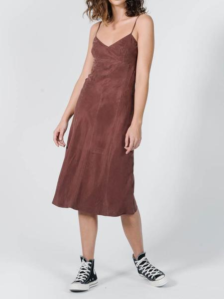 Thrills Endless Slip Dress - Brown