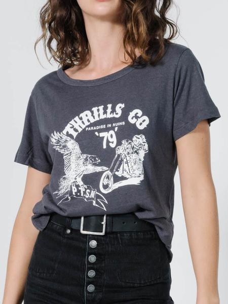 Thrills Highway 79 Band Tee - Vintage Black