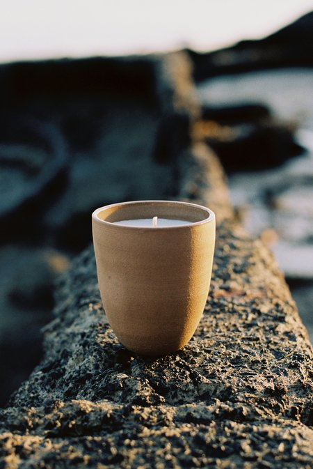 Rachel Saunders Ceramics Cup Candle