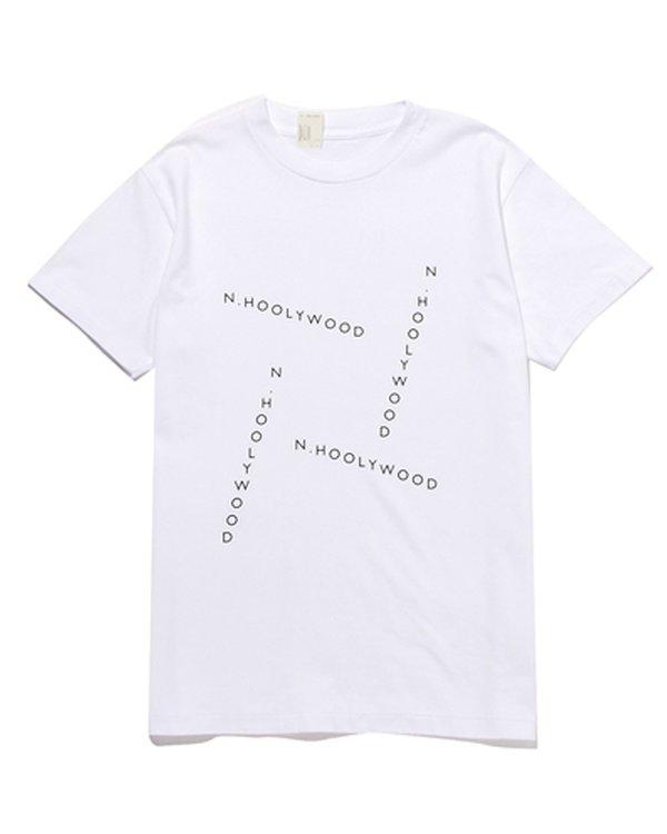 N. Hoolywood Logo Printed Short Sleeve T Shirt