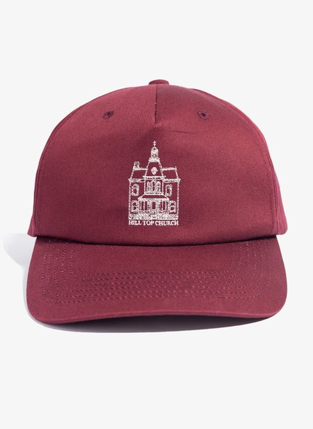 UNDERCOVER Hill Top Church Hat - Bordeaux