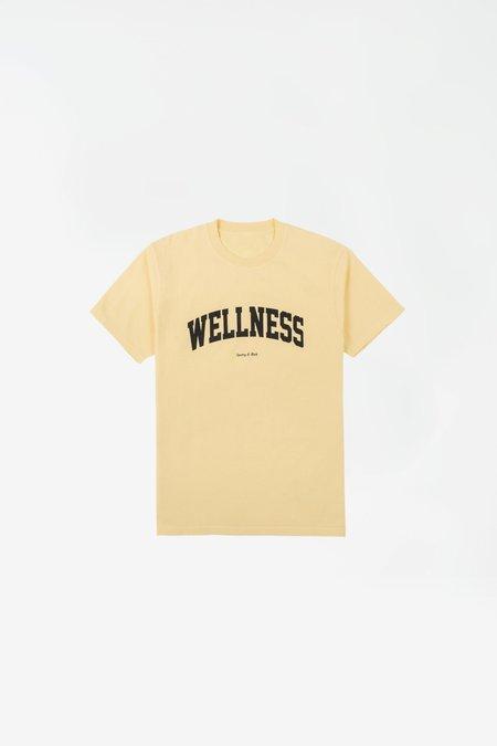Sporty & Rich Wellness Ivy t shirt - cream/black