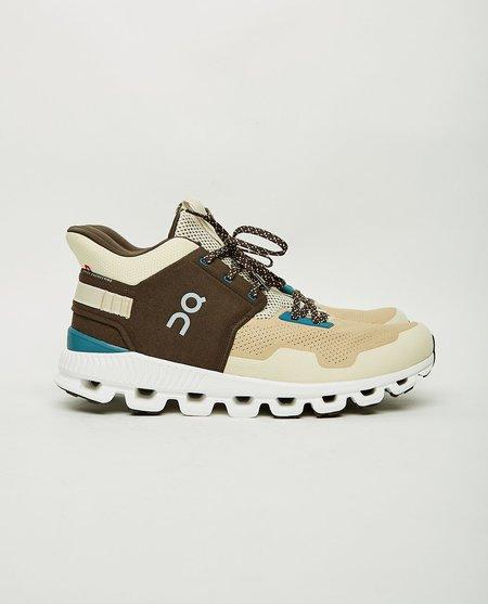 ON. Cloud Hi Edge Sneakers - Sand/Brown
