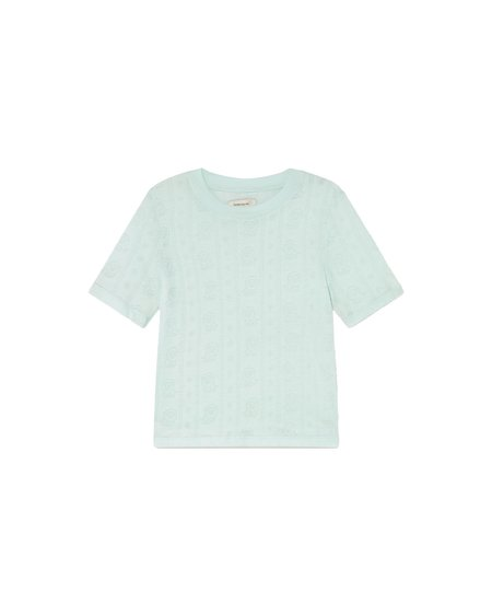 Thinking Mu Mara Top - Aqua