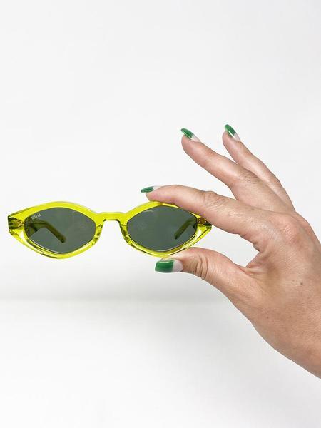 Unisex Vada Siren Eyewear - Sencha/Vintage Green Lens