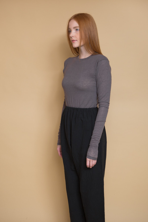 Can Pep Rey Skinny Long Sleeve T-Shirt / Plum Kitten