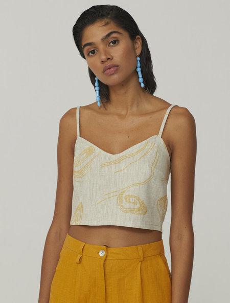 Paloma Wool Palma Top - Twister Print