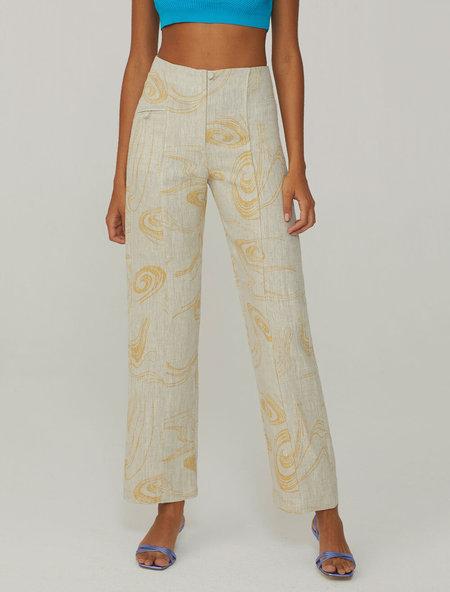 Paloma Wool Bolero Pant - Twister Print