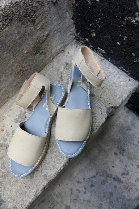 ACT SERIES alvesta Ankle Strap Espadrilles - Cream
