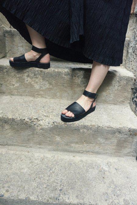 ACT SERIES alvesta Ankle Strap Espadrilles - Black