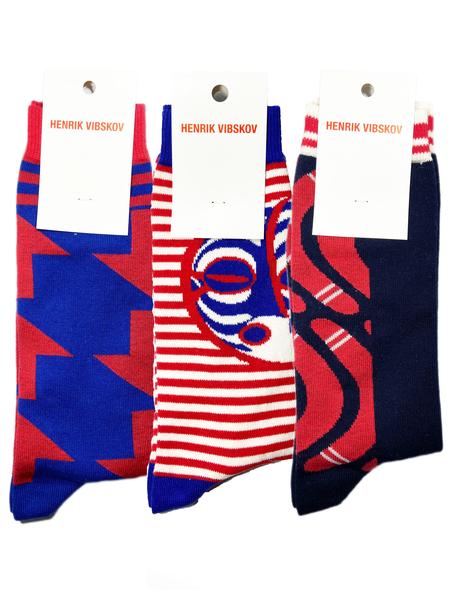 Unisex Henrik Vibskov 3 Pair Socks Set