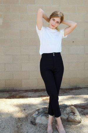 Maria Stanley Skinny Luna Pant - Noir