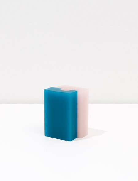 Dean Toepfer Small Vase Versa - Pink/Teal