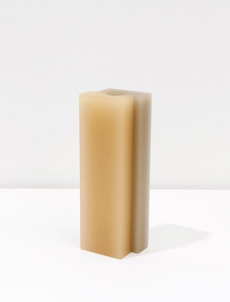 Dean Toepfer Vase Versa - Taupe/Melon