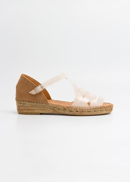 Naguisa ALMA TPU Sandal - Ivory