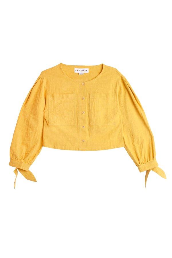 L.F. Markey Felton Shirt - Saffron