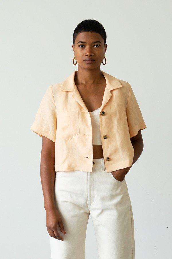 Waltz Camp Shirt Jacket - Apricot