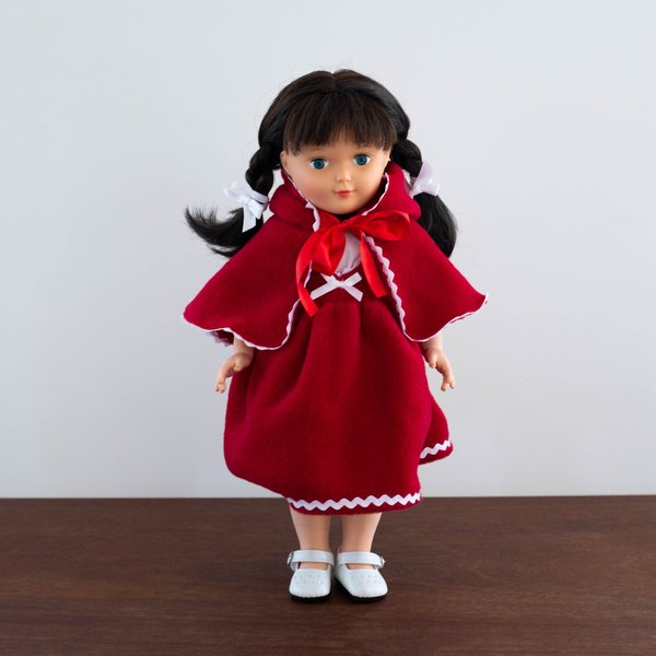 Kids Petit Collin French Nathalie Lete Little Red Riding Hood Doll