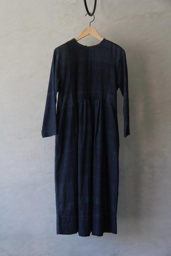 Santanu Das Maku Azira Dress - Indigo