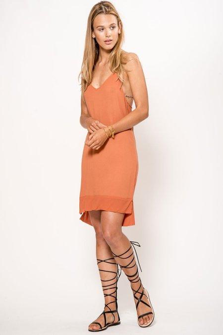 Lacausa Arrow Slip Dress - Sedona