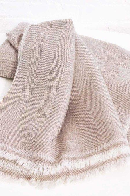 Primary New York Cashmere Blanket - Beige
